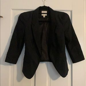 Urban Outfitters black fitted blazer